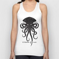 cthulhu Tank Tops featuring Cthulhu by Hans Mills