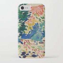 Landscape at Collioure - Henri Matisse - Exhibition Poster iPhone Case