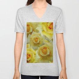 Bouquet de fleur 2 Unisex V-Neck