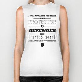 Defender of the Innocent Biker Tank