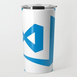 visual studio code sticker Travel Mug