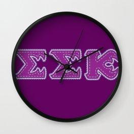 Monster University Fraternity : Slugma slugma Kappa Wall Clock