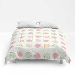 Concentric (circles) Comforters