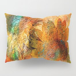sunflower vintage Pillow Sham