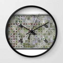Village Life 01a Wall Clock