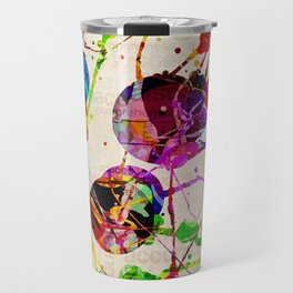 Abstract Expressionism 2 Travel Mug