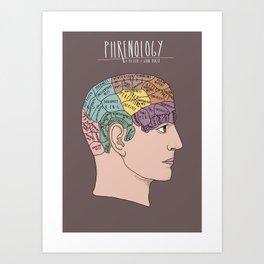Phrenology Art Print