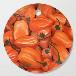 Habanero Peppers Cutting Board