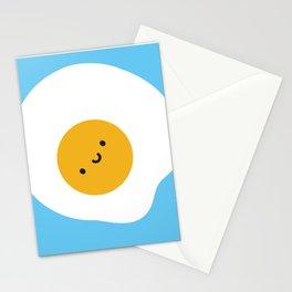 Kawaii Fried Egg Stationery Cards