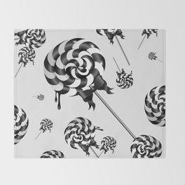 Goth Lollies Throw Blanket