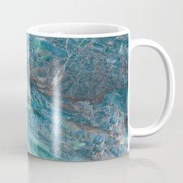 Azzurro Marble, Teal, Aqua, Blue Coffee Mug