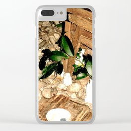 Sacred Space Clear iPhone Case