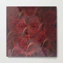 Little Therese in the Roses Metal Print
