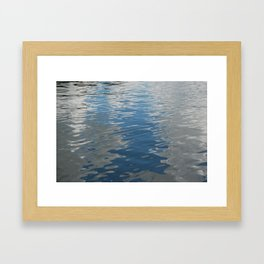 Clouds in the Water, Lake of the Woods, Canada Framed Art Print