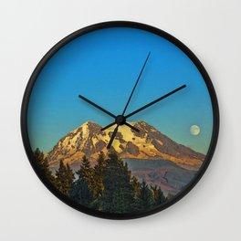 October Moonrise Wall Clock