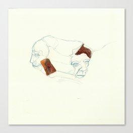 UnHuman#03 Canvas Print