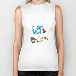 Type Let's Dance Biker Tank
