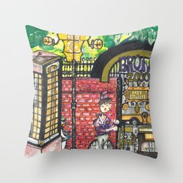 The Bronx Zooo Throw Pillow