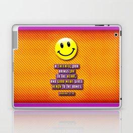 A Cheerful Look Laptop & iPad Skin
