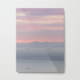 Dawn over Cape Town Metal Print