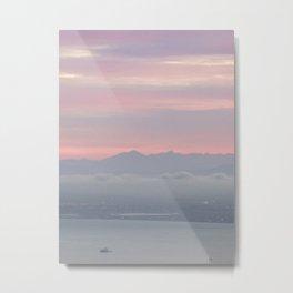 Dawn over Cape Town Metal Print