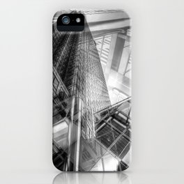 Canary Wharf Tower Abstracts iPhone Case