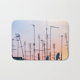 160. Antennas Sunset, Rome Bath Mat