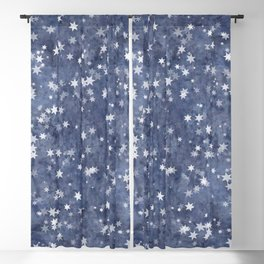 starry night Blackout Curtain