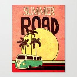 SummerRoad Canvas Print