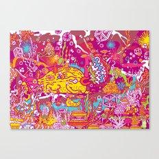 Giant Mudskipper Canvas Print