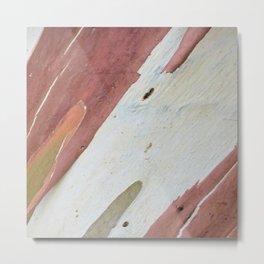 Eucalyptus tree bark Metal Print