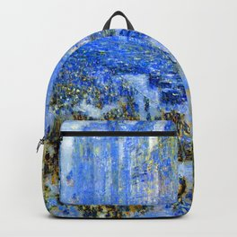 Childe Hassam Fifth Avenue New York Backpack