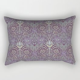 Blueberries and Spoon Rectangular Pillow