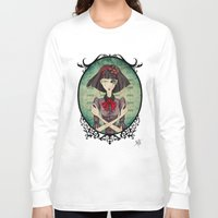 dragonfly Long Sleeve T-shirts featuring Dragonfly by Beñat Olea