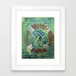 br Framed Art Print