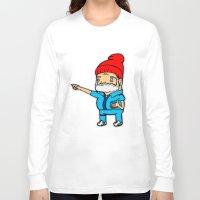 zissou Long Sleeve T-shirts featuring Zissou by kaylieghkartoons