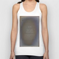 sin city Tank Tops featuring Sin by Jane Lacey Smith