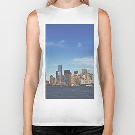 Manhattan Skyline Biker Tank