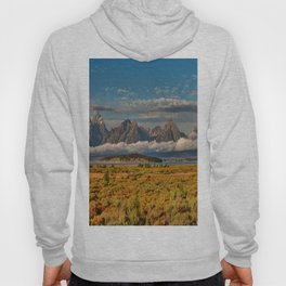 The Grand Tetons Panorama Hoody