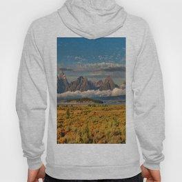 TheGrand Teton National Park in the Fall Panorama Hoody