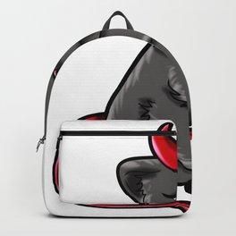 Evil Cat Devil Kitty devilish Present gift Backpack