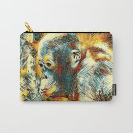 AnimalArt_OrangUtan_20180204_by_JAMColors Carry-All Pouch