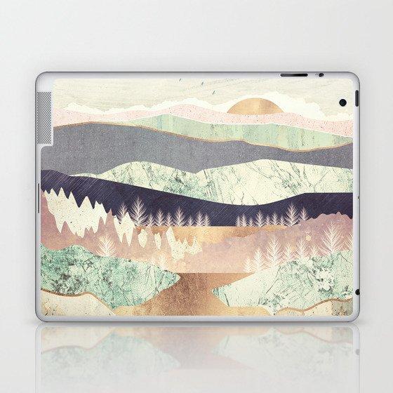 Golden Spring Reflection Laptop & iPad Skin