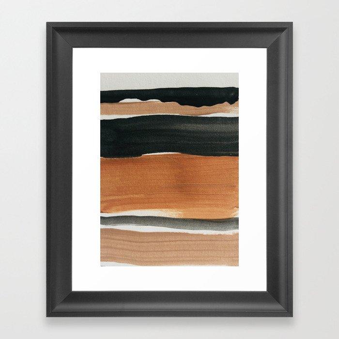 abstract minimal 12 Gerahmter Kunstdruck