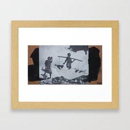 boys Framed Art Print