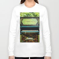 piano Long Sleeve T-shirts featuring Piano by lenomadecom