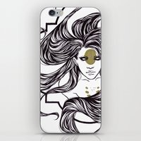 clover iPhone & iPod Skins featuring Clover by Cassie Wolfe