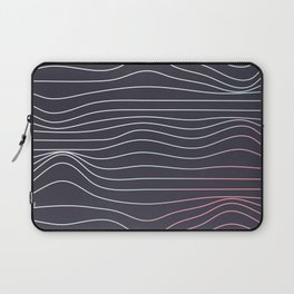 Wave lines Laptop Sleeve