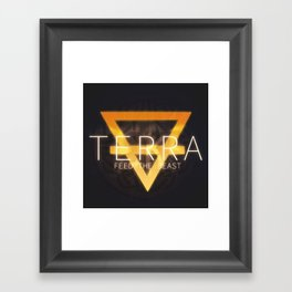 TERRA Framed Art Print