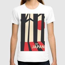 Japan vintage travel poster T-shirt